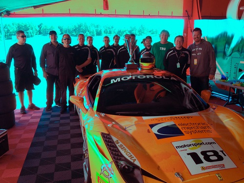 EMS Racing Finishes 2nd and 4th at Mosport Ferrari Challenge
