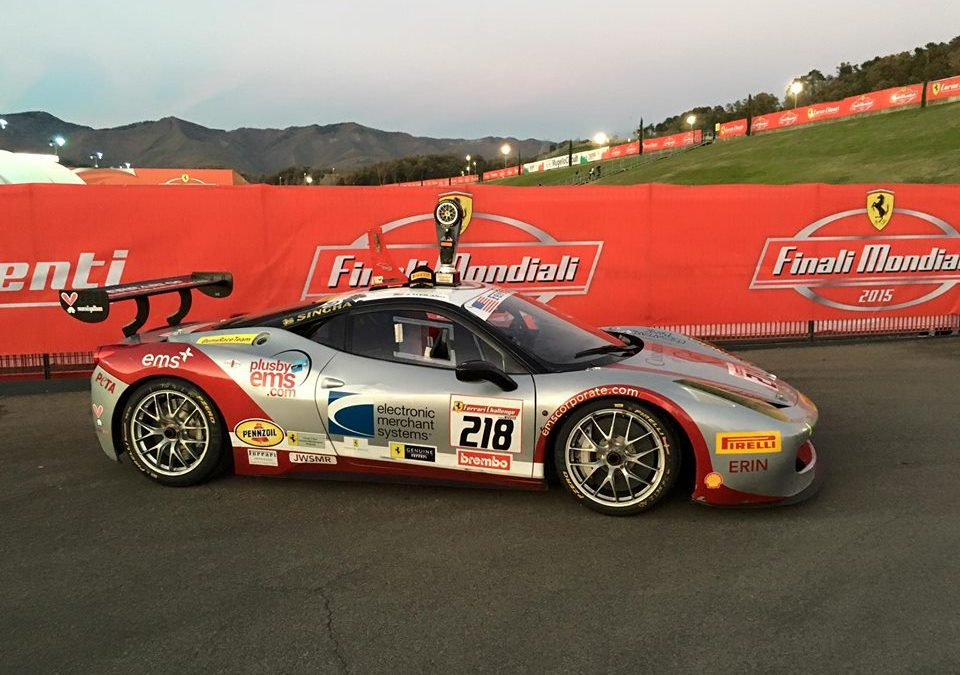 EMS Race Team Secures Two Victories at the Ferrari Challenge World Finals in Italy