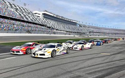EMS Race Team Opens Season with Pair of Podium Finishes at Daytona Ferrari Challenge
