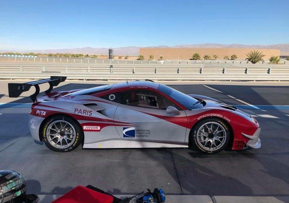 EMS Race Team Opens 2018 Ferrari Challenge at Daytona International Speedway
