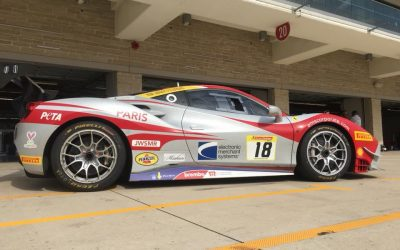 EMS Race Team Travels to Circuit of the Americas for Ferrari Challenge in Austin, Texas