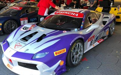 EMS Race Team Travels to New Zealand for Next Round of Ferrari Challenge Action