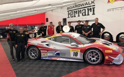 EMS Race Team Earns Sixth Podium Finish of the Season During Montreal Ferrari Challenge