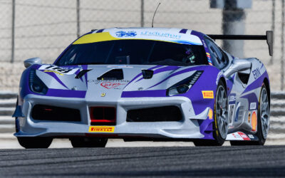 EMS Race Team Competes in 2019 Ferrari Challenge at Circuit of the Americas