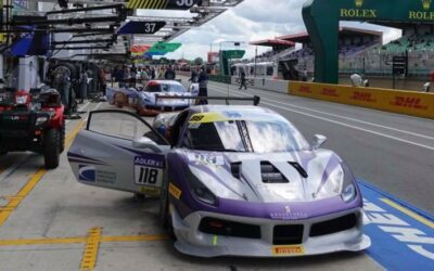 EMS Race Team Triumphs at Le Mans Ferrari Challenge in France