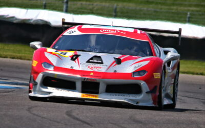 EMS Race Team Races to Raise Awareness for PETA, Coach Sam's and Cornerstone at the Indianapolis Motor Speedway