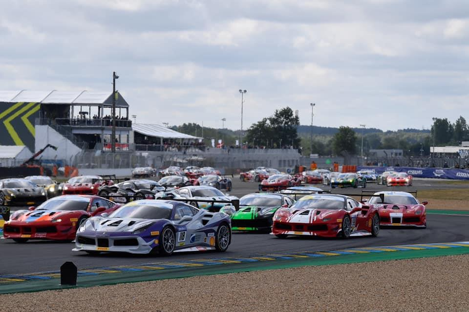 EMS Race Team Travels to Ferrari Challenge at the Nürburgring in Germany
